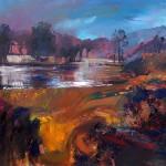Impressions, Autumn - Acrylic, 60 x 60 cm