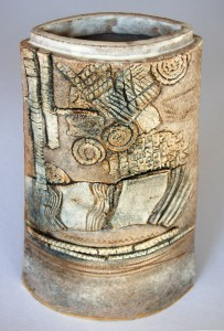 Ammonite Pot